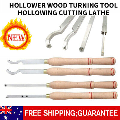 Hollower Wood Turning Tool Hollowing Cutting Lathe Carbide Inserts Wooden Handle