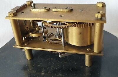 Clock Movement British Made Windable Working Spares..