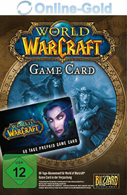 World of Warcraft Playtime 60 días - Battlenet 60 días WOW Gamecard Code UE