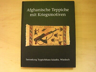 Böhning: Afghan carpets with war motives, 1993, very rare