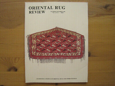 Oriental Rug Review:Vol 11/1: Dudin Collection (30 color plates)