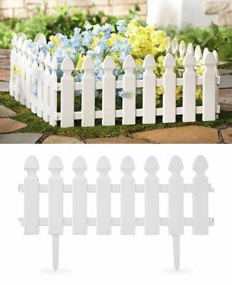 Heritage Garden Picket Fence Border Edging Gardening Lawn Fencing Path Flowers