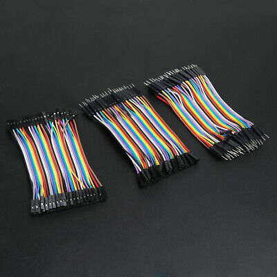 120 Pcs/set Male To Female Dupont Wire Jumper Cable For Arduino Breadboard