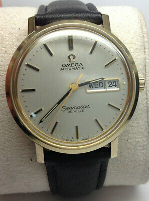 Vintage Omega Seamaster De Ville Day-Date Automatic Watch **NO RESERVE**