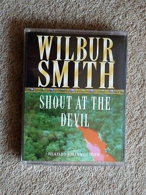 Wilbur Smith - Shout At The Devil  - Audio Book   - Talking Books  ( 2  Cass )