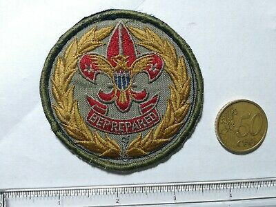 Boy scouts vecchia patch badge vintage old orig. 100%