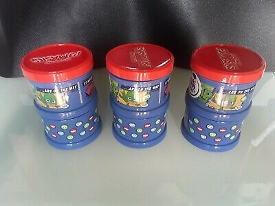 Pj Masks 2pc Snack Container x 3