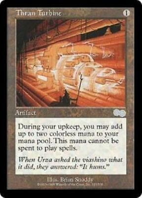 Thran Turbine new MTG Urza's Saga Magic 0QD