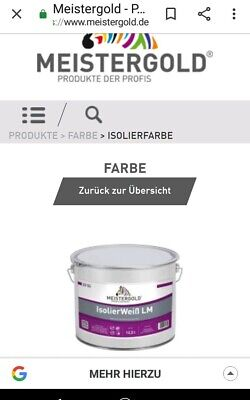 Meistergold Isolier farbe