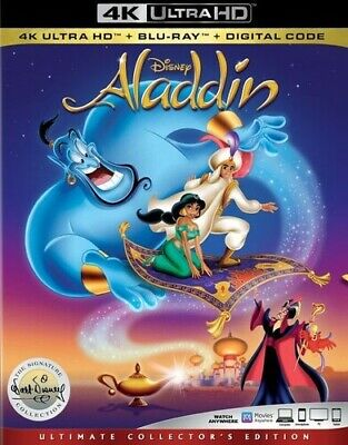 Aladdin: Signature Collection [New 4K Ultra HD] With Blu-Ray, 4K Mastering, Ac
