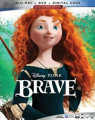 Brave [New Blu-ray] With DVD, 2 Pack, Ac-3/Dolby Digital, Digital Copy, Dolby,