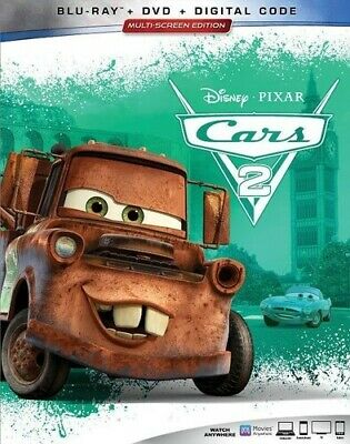 Cars 2 [New Blu-ray] With DVD, 3 Pack, Ac-3/Dolby Digital, Digital Copy, Digit