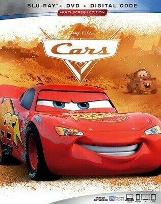 Cars [New Blu-ray] With DVD, 2 Pack, Ac-3/Dolby Digital, Digital Copy, Dolby,