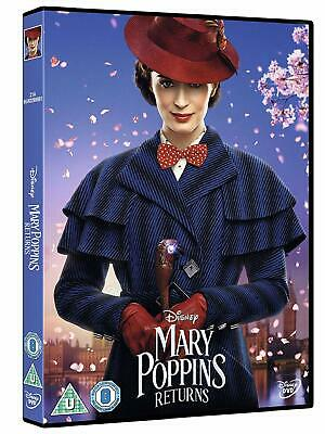 Mary Poppins Returns New (Region 2 - UK)  DVD / Free Delivery