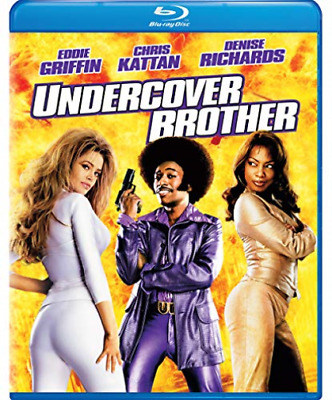 UNDERCOVER BROTHER-UNDERCOVER BROTHER Blu-Ray NEW