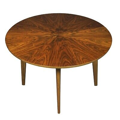 Table round World War Live Dewe Age Adjustable in Height Rosewood Look 3Z