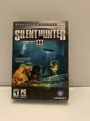 Silent Hunter III (PC, 2005) FACTORY SEALED