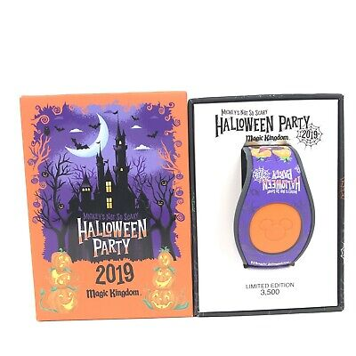 Disney Parks Mickey's Not So Scary Halloween Party 2019 Magicband Magic Band 2