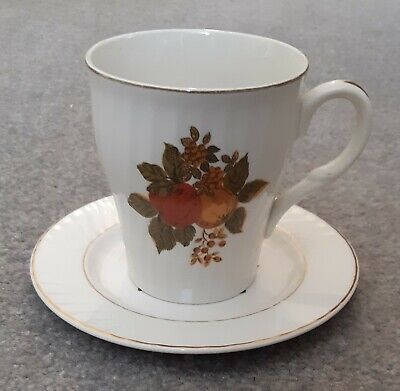 Enoch Wedgwood English Harvest Cup and Saucer