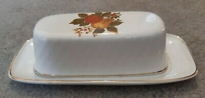 Enoch Wedgwood English Harvest Covered Butter Dish