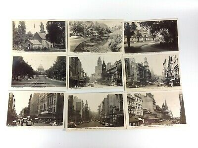 Lot of Rose Series Real Photo Postcards Melbourne Vic