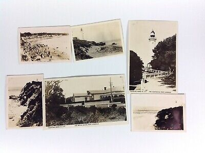 Lot Real Photo Postcards Point Lonsdale Vic