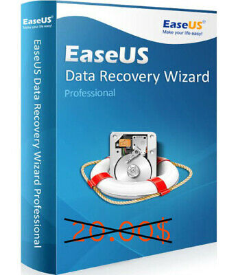 EASEUS DATA RECOVERY WIZARD 12.0 PROFESSIONAL GENUINE SERIAL instant delivery