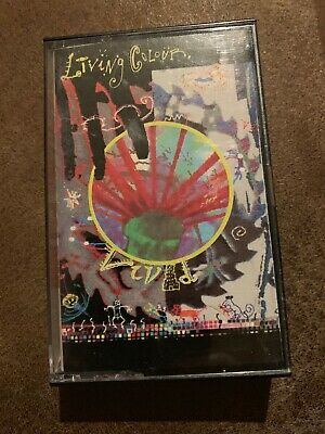 Living Colour - Vivid Cassette Tape Brand New Sealed Cult Of Personality
