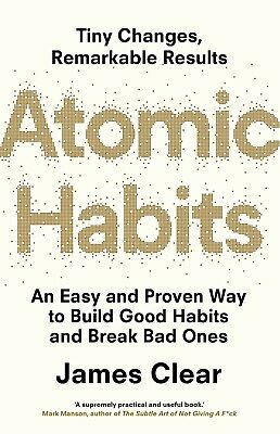 NEW Atomic Habits By James Clear (Paperback) FREE Shipping