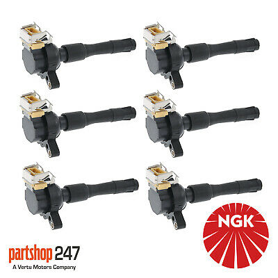 6x Ignition Coil Packs Fits BMW 3 5 Series Z3 Land Rover Freelander MG Rover