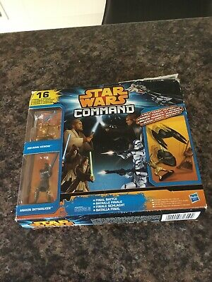 Star Wars Command Figure And Vehicle Set All Complete