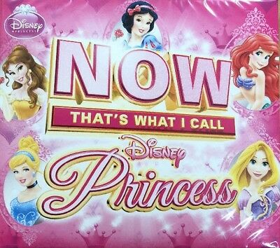 Now That's What I Call Disney Princess CD NEW & Sealed 2019