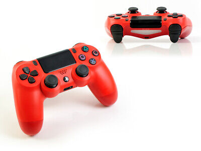(2016) Sony PS4 Originale Dualshock 4 Rosso - Wireless Controller V2 PLAYSTATION