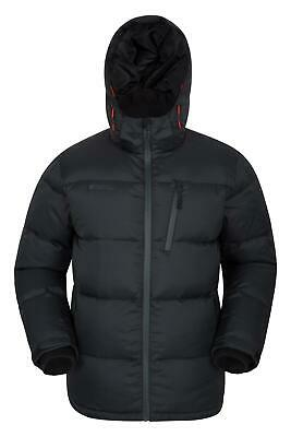 Mountain Warehouse Frost Mens Down Padded Jacket Water Resistant Fabric