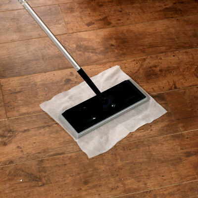 Electrostatic Mop Dust Magnet Broom Floor Wiper Cleaner Includes 10 Cloths Wipes