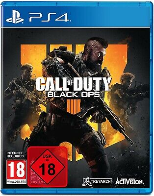Call of Duty Black Ops 4 - PS4 Playstation 4 - NEU OVP - Deutsche Version