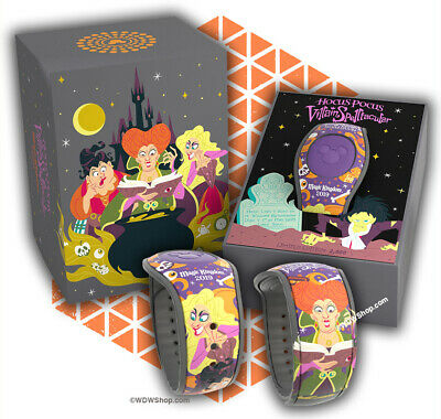 Disney Hocus Pocus Mickey's Not So Scary Halloween Party Magicband LE 2000