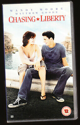 Chasing Liberty - Mandy Moore, Matthew Goode - Vhs Pal (Uk) Video - Rare