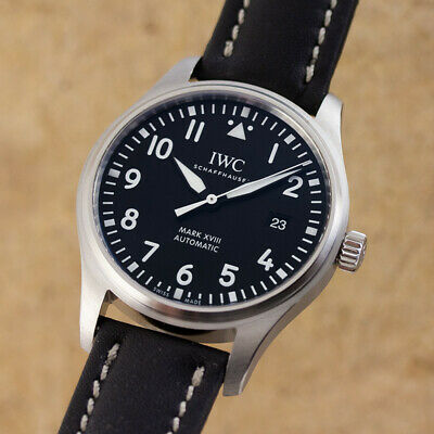 Iwc Mark XVIII Pilot ´S Aviator Men's Watch Automatic Ref. 3270 Op