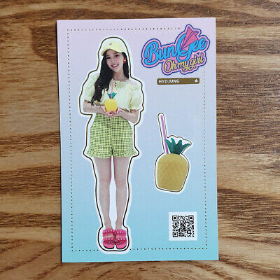 Hyojung Official Photocard Oh My Girl Summer Package Fall in Love Kpop Genuine