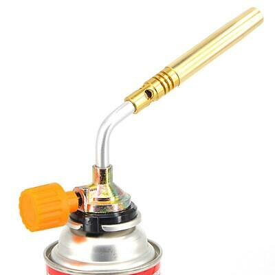 Outdoor Butane Flame Welding Torch Jet Burner Camping Picnic Heating Grill Bakin
