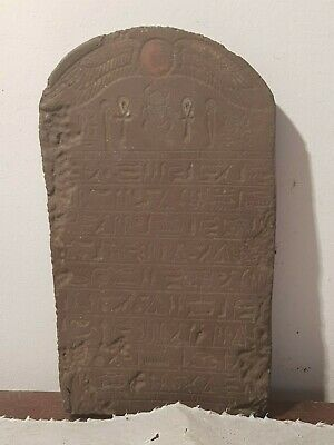 Rare Antique Ancient Egyptian Stela Book Dead Holy Sacred Book Heaven1840-1760BC