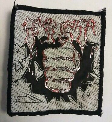 FIST RARE NWOBHM 70'80'S PATCH heavy metal rock