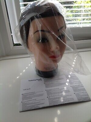 New Sibel Training Head  (70% Natural 30% Synthetic) 100% Hand Made. College