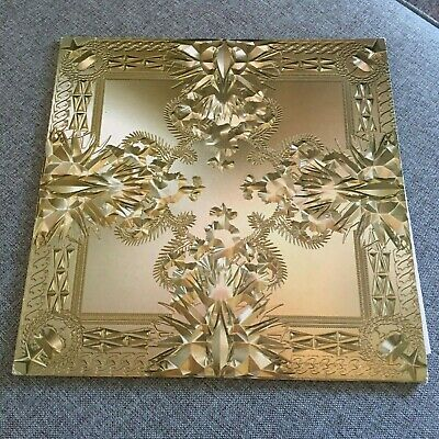 Jay Z & Kanye West - Watch the Throne 2 x LP clear vinyl NM