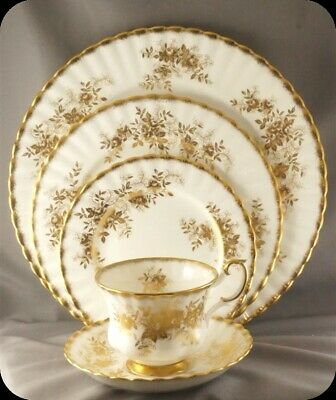 Royal Albert Antoinette 5 Piece Place Setting RARE (Two Available)