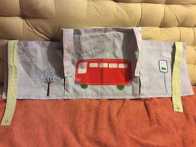 🚎Mothercare Baby Boys Happytown Cot Tidy Storage  🚎