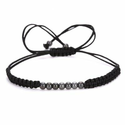 Fashion Hand-woven Rope Braided Bracelet Bead Adjustable Women Jewelry Gifts Hot