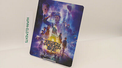 READY PLAYER ONE - Lenticular 3D Flip Magnet Cover FOR bluray steelbook