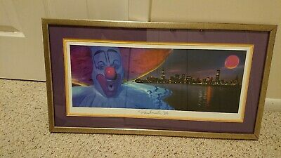 Victor Skrebneski Bozo 25th Anniversar Limited Edition Signed Chicago Print Rare